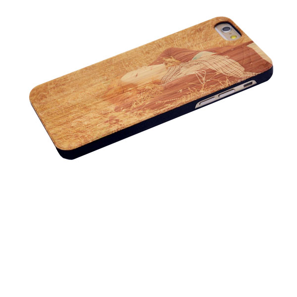 Personalized iPhone 6s wooden case