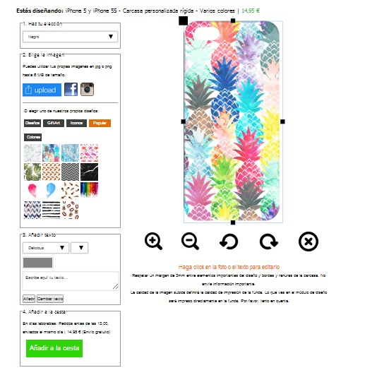 customized iPhone 4s phone case