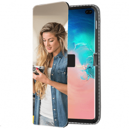 Galaxy S10 PLUS personalised phone case - Wallet case