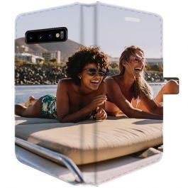 Samsung Galaxy S10 PLUS - Carcasa Personalizada Billetera (Completamente impresa)