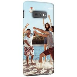 Samsung Galaxy S10 E - Carcasa Personalizada Rígida con Bordes Impresos