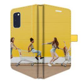 Samsung Galaxy S20 - Carcasa Personalizada Billetera (Completamente Impresa)