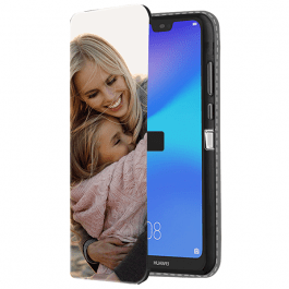 Huawei P20 Lite - Carcasa Personalizada Billetera (Impresión Frontal)