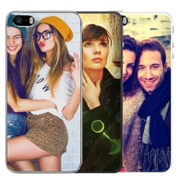 iPhone 5, 5S & SE(2016) - Carcasa Personalizada Blanda