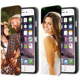 iPhone 6 PLUS & 6S PLUS - Carcasa Personalizada Billetera (Impresión Frontal)
