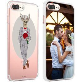 iPhone 7 PLUS & 7S PLUS - Carcasa Personalizada Blanda