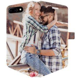 iPhone 7 PLUS & 7S PLUS - Carcasa Personalizada Billetera (Completamente impresa)