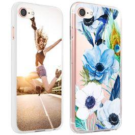 iPhone 8 - Carcasa Personalizada Blanda