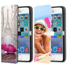 iPhone 5, 5S & SE(2016) - Carcasa Personalizada Billetera (Impresión Frontal)