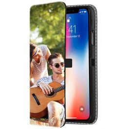 iPhone X - Carcasa Personalizada Billetera (Impresión Frontal)