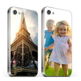 iPhone 4 y 4S - Tapa trasera personalizada de cristal