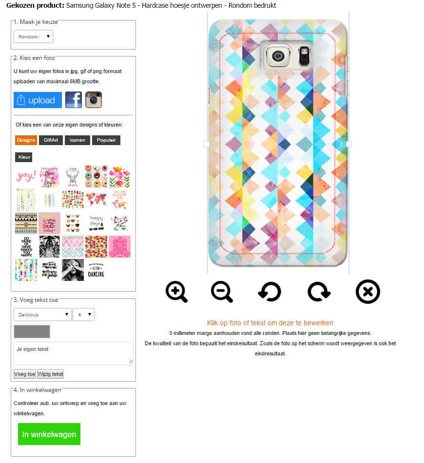 Personalized Samsung Galaxy Note 5 case