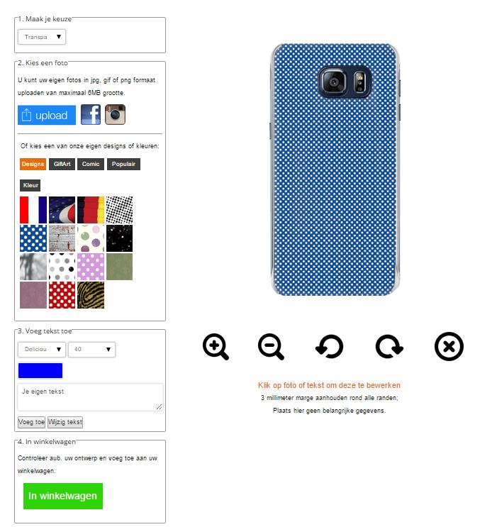 personalized Samsung Galaxy S6 edge plus case
