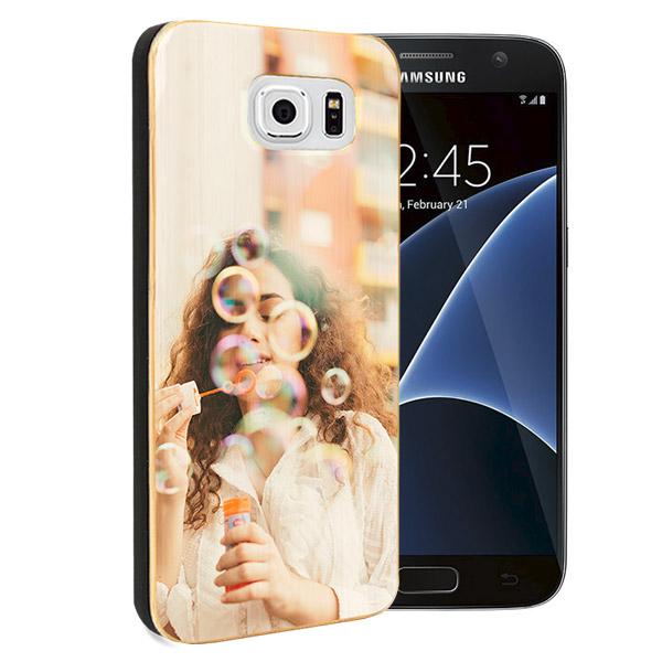 Galaxy S7 coque en bois