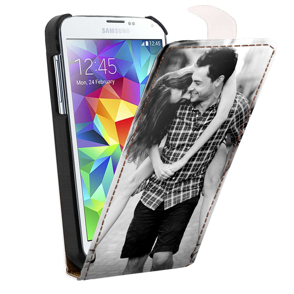 Personalised Samsung Galaxy S5 flip case
