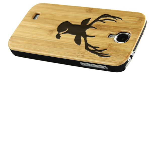 Make your own samsung galaxy s4 wooden case