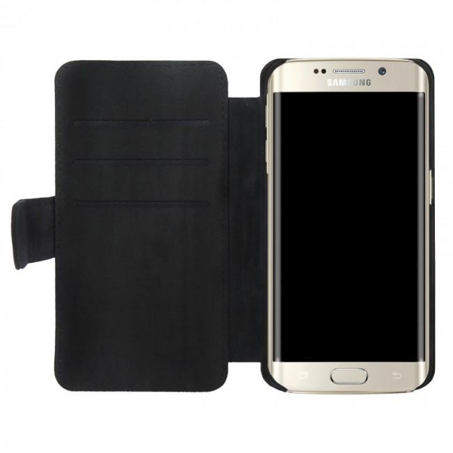 funda personalizada con tapa Samsung Galaxy S6 Edge