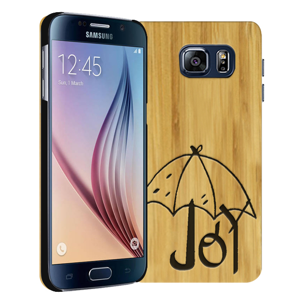 Personalised galaxy s6 engraved case