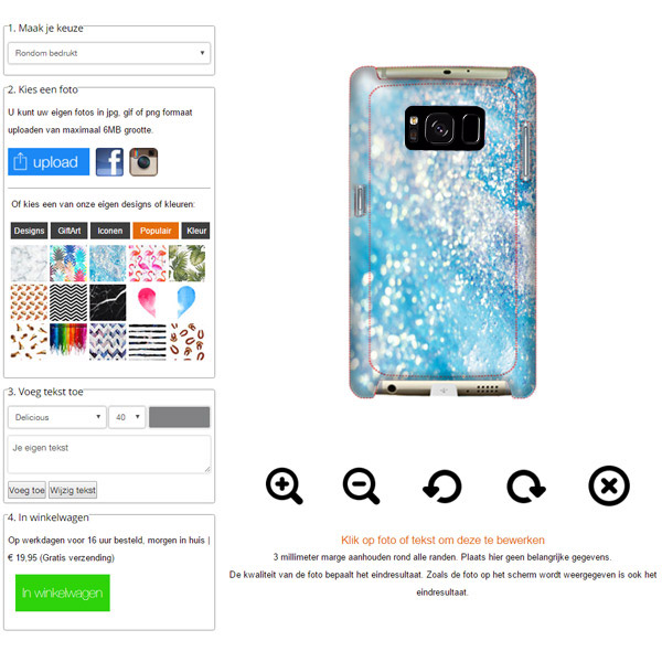 custom Samsung Galaxy S8 Hardcase