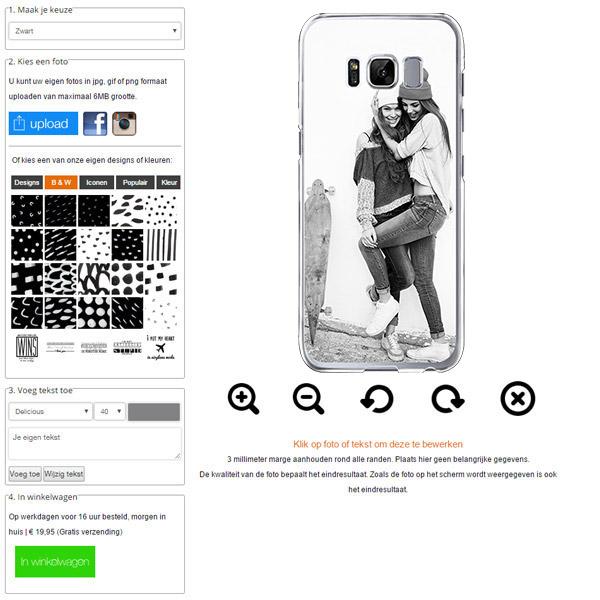 Customized Samsung Galaxy S8 hard case