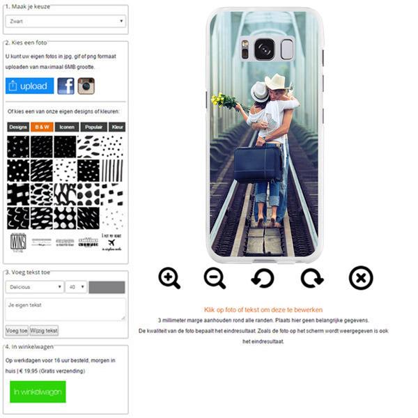 customized Samsung Galaxy S8 case
