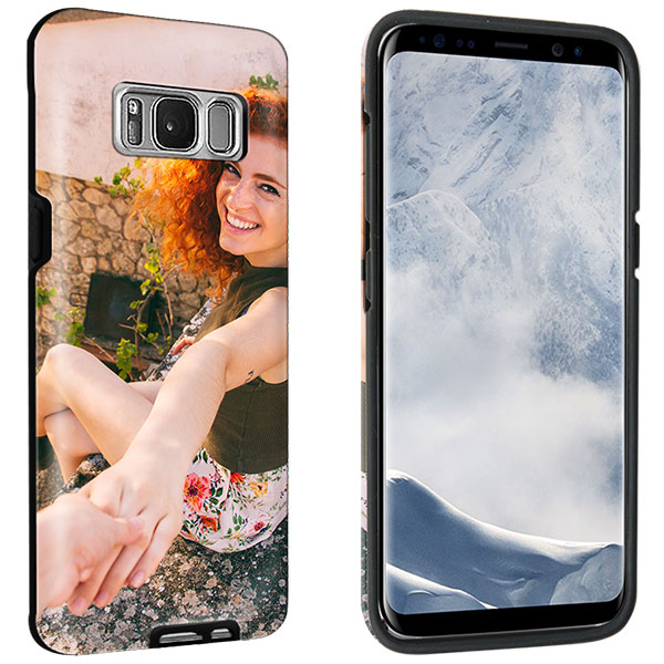samsung galaxy s8 handyh lle selbst gestalten tough case. Black Bedroom Furniture Sets. Home Design Ideas