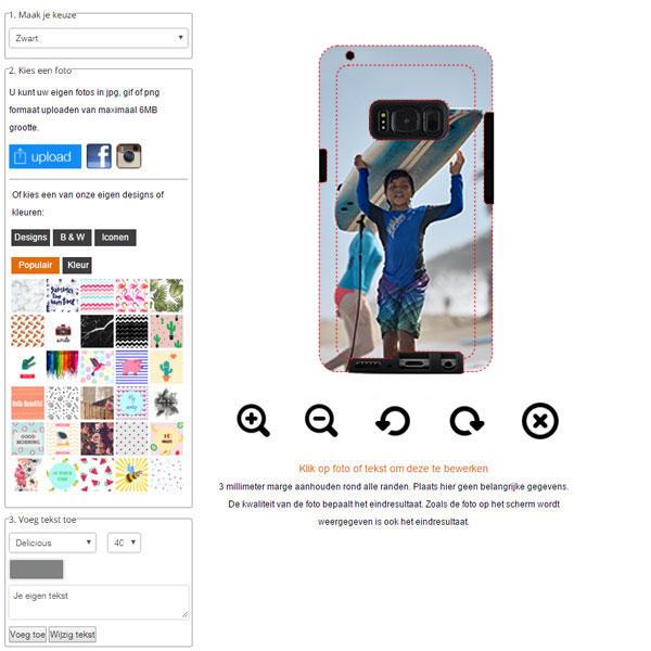 Make your own Samsung Galaxy S8 case