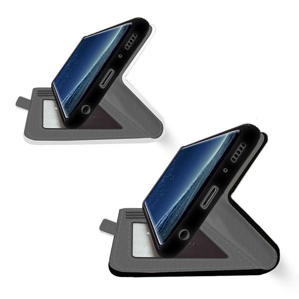 Galaxy S8 portemonnee hoesje met foto