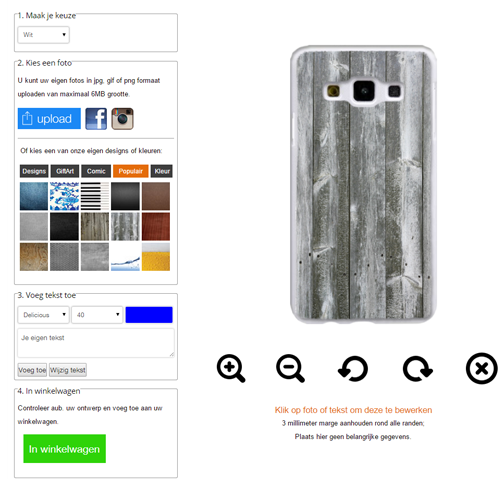 Design your own Samsung Galaxy A3 (2015) case