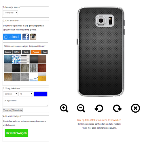 personalized Samsung Galaxy S6 case