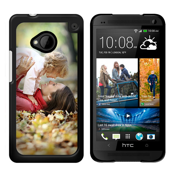htc one h lle selbst gestalten case mit foto text. Black Bedroom Furniture Sets. Home Design Ideas