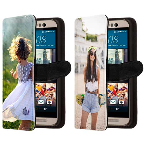 htc one m9 case selbst gestalten flip cover mit foto. Black Bedroom Furniture Sets. Home Design Ideas