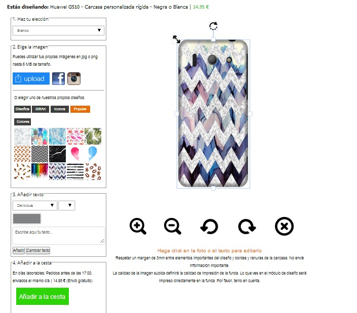 Make your own Huawei G510 case