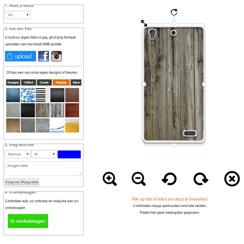 Custom Huawei Acend G630 phone case