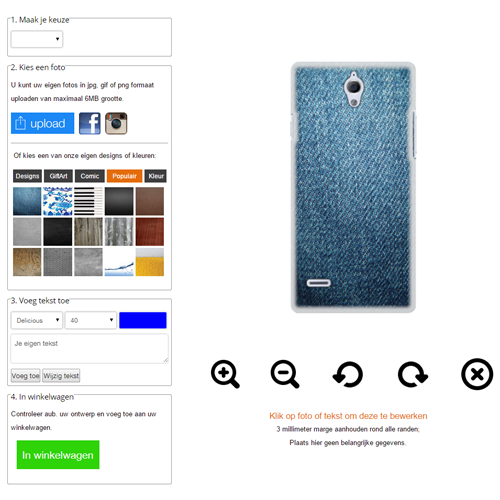 Personalized Huawei AScend G700 case