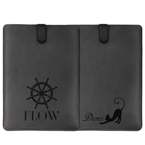 Custom iPad air leather case