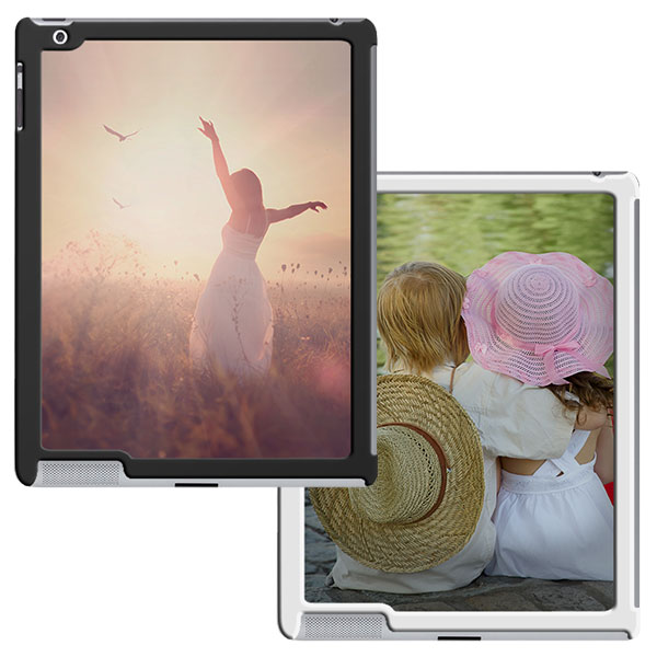 ipad 2 3 4 h lle selber gestalten hard case mit foto. Black Bedroom Furniture Sets. Home Design Ideas