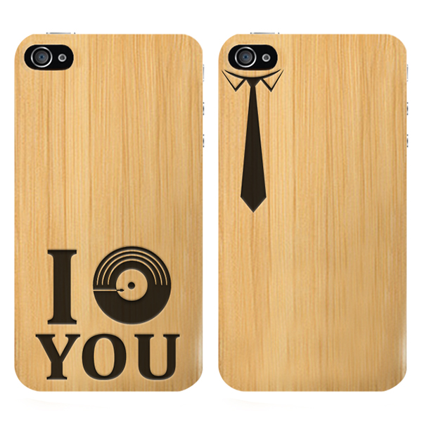 Make your own iPhone 4 wooden case
