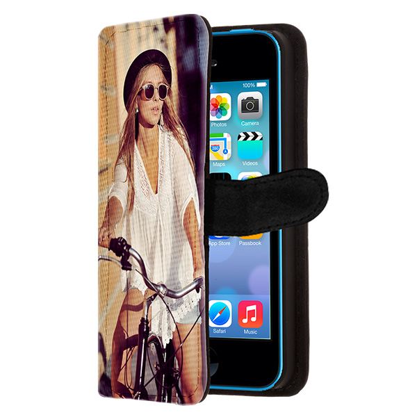personalized iPhone 5C wallet case