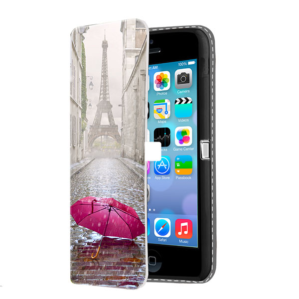 Custodia a libro iPhone 5C