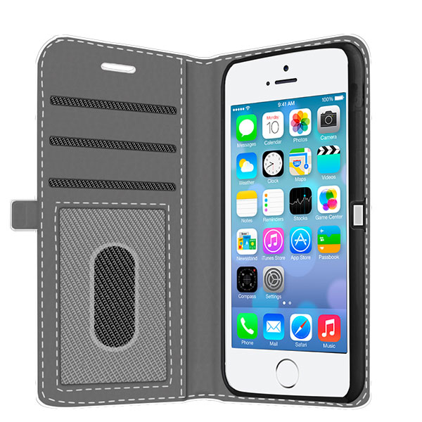 iPhone 5C personalized wallet case