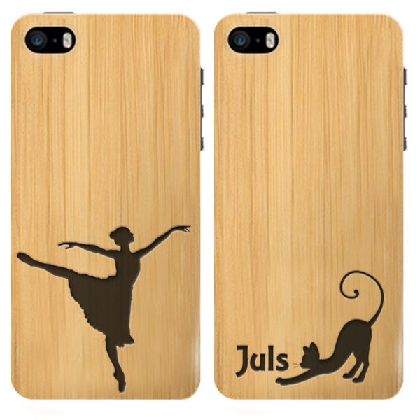 iphone 5 case selbst gestalten gravierte holz h lle. Black Bedroom Furniture Sets. Home Design Ideas