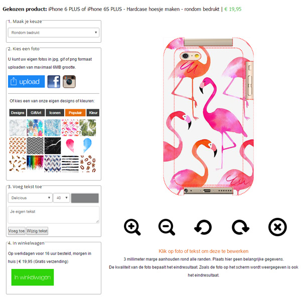 Personalized iPhone 6 phone case