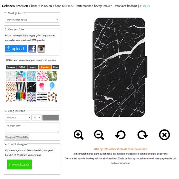 Custom iPhone 6 Plus wallet case