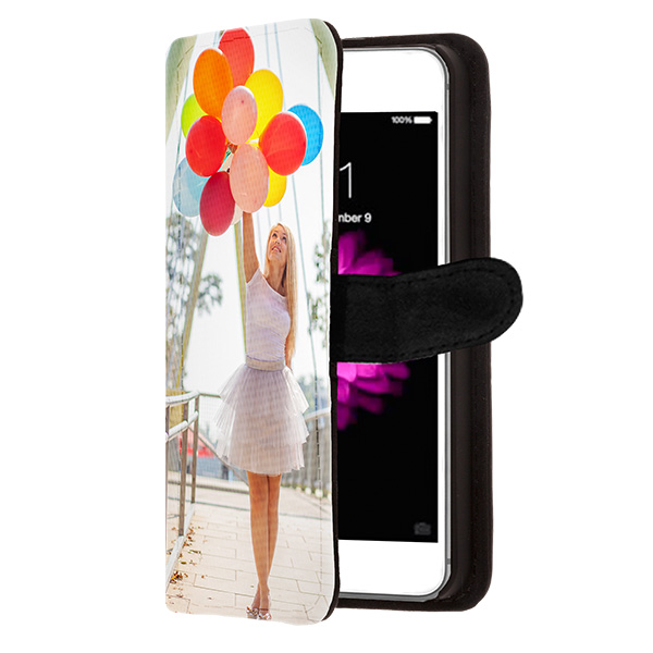 iphone 6s h lle selbst gestalten flip case mit foto. Black Bedroom Furniture Sets. Home Design Ideas