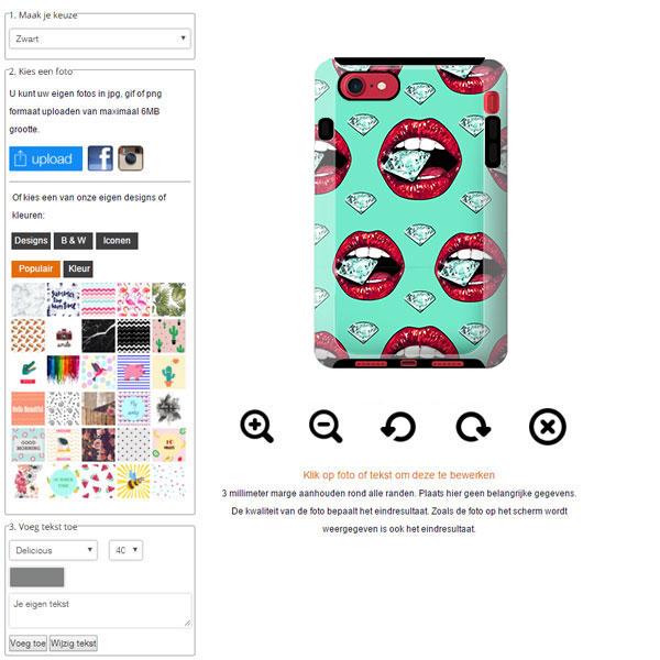 IPhone 7 tough case design