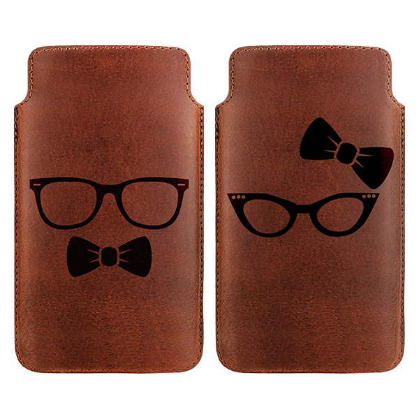 Personalised leather case