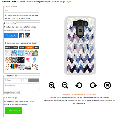 personalized Lg G3 case