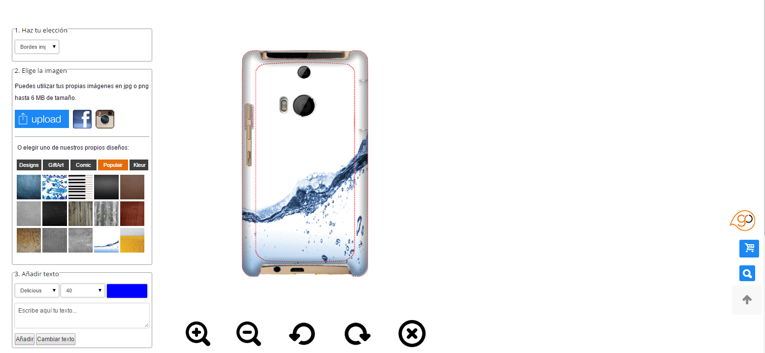 Personalized HTC One M8 case