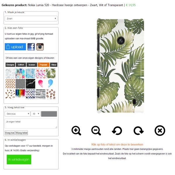 Personalized Nokia Lumia 520 case